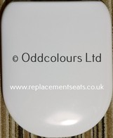 "Homebase's Ideal Standard ""Accent"" Seat  E0439 01  (Soft Close)"