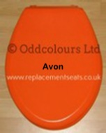 Celmac Avon Seat in Orange