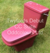 Twyfords Debut WC Suite (in Damask)