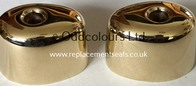 Ideal Standard Domi Duo Heads in Light Gold