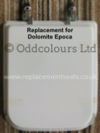 Dolomite Epoca Resin Replica Seat