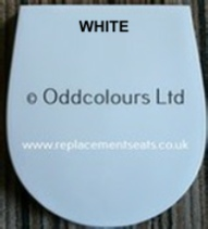 Ideal Standard 'White' Seat & Cover  E0021
