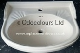 Barrhead Kintyre Kilean / Classic 60cm 1TH Basin (Soft Cream)