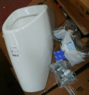 New Caprino Urinal Bowl External Inlet