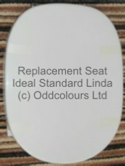 Ideal Standard Linda Resin Replica Seat