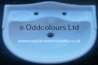 Loire 64cm 1TH Basin in White