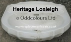 Heritage Loxleigh 2TH Basin only in White