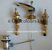 Armitage Shanks Millenia 3TH Basin Mixer (no heads)