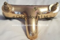 Armitage Shanks Millenia 2TH Bath Filler body only in Midas Gold