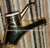 Monolux Basin Mixer Dawn Gold