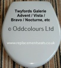 Twyfords New Galerie Seat