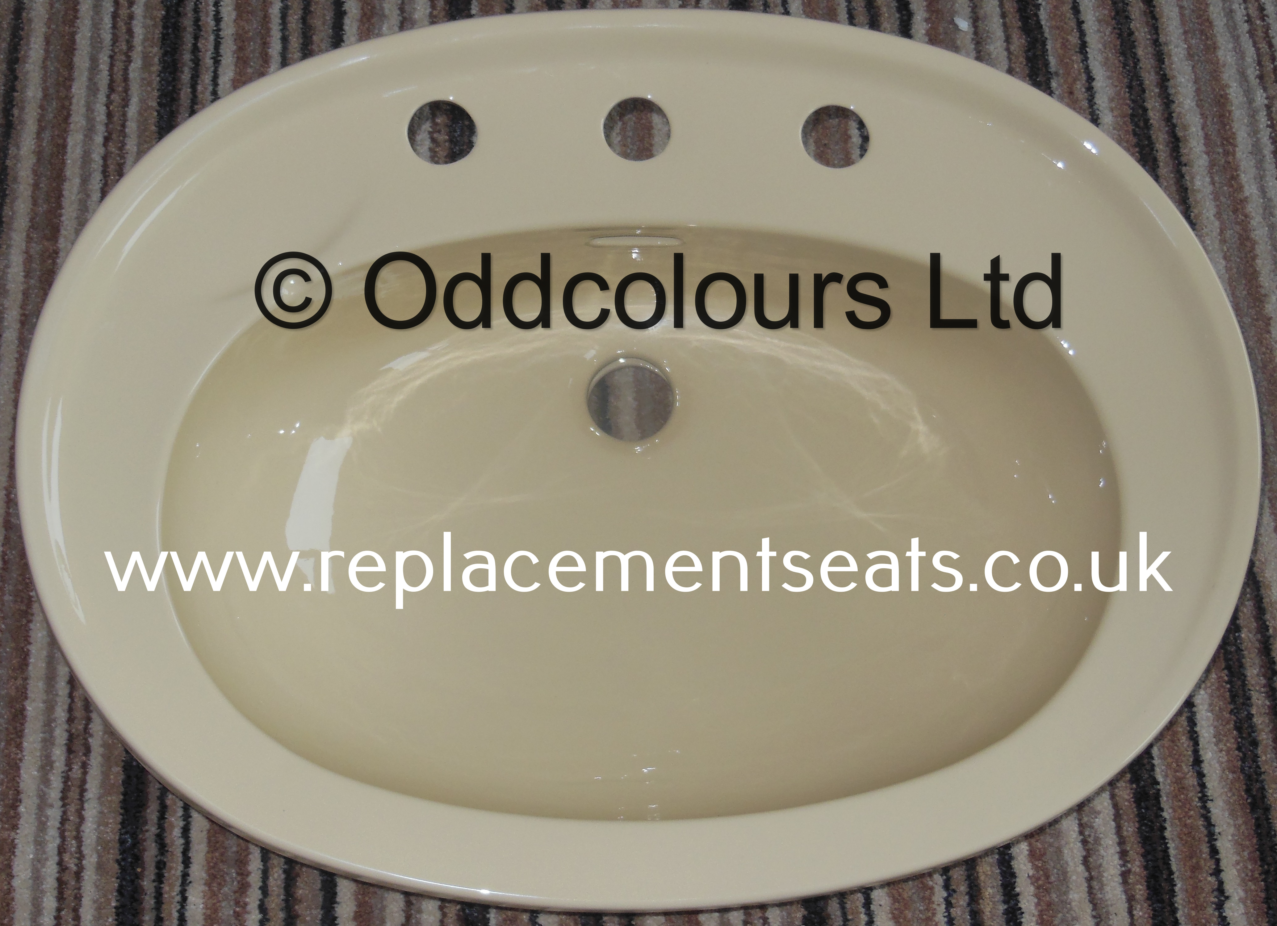Doulton / Allia 620 x 460mm Vanity Basin