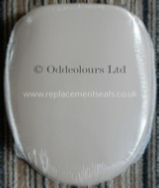 Pressalit 2000 Seat in Honeysuckle
