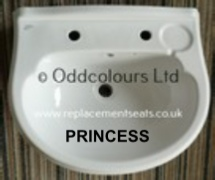 Ideal Standard Princess 56cm 2TH Basin
