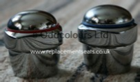 Ideal Standard Quattro Waterways Heads Chrome