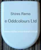 Shires Remo Soft Close Seat in White