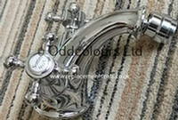 Sottini Revival 1TH Bidet Mixer Chrome