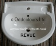 Ideal Standard Revue 56cm semi-recessed Basin