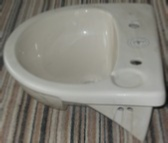 Armitage Shanks Sandringham 49cm semi-recessed 2TH Basin
