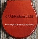 Ideal Standard Space Resin Replica Seat in Mahogany effect