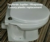 Luxury Replacement Seat to suit Twyfords Rhapsody / Jupiter