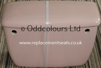 Connaught / Trentline Replica Cistern in Wild Rose / Coral Pink