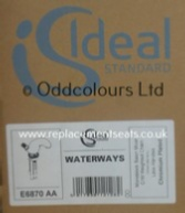Id Std Waterways 1TH Basin Mixer + Chain